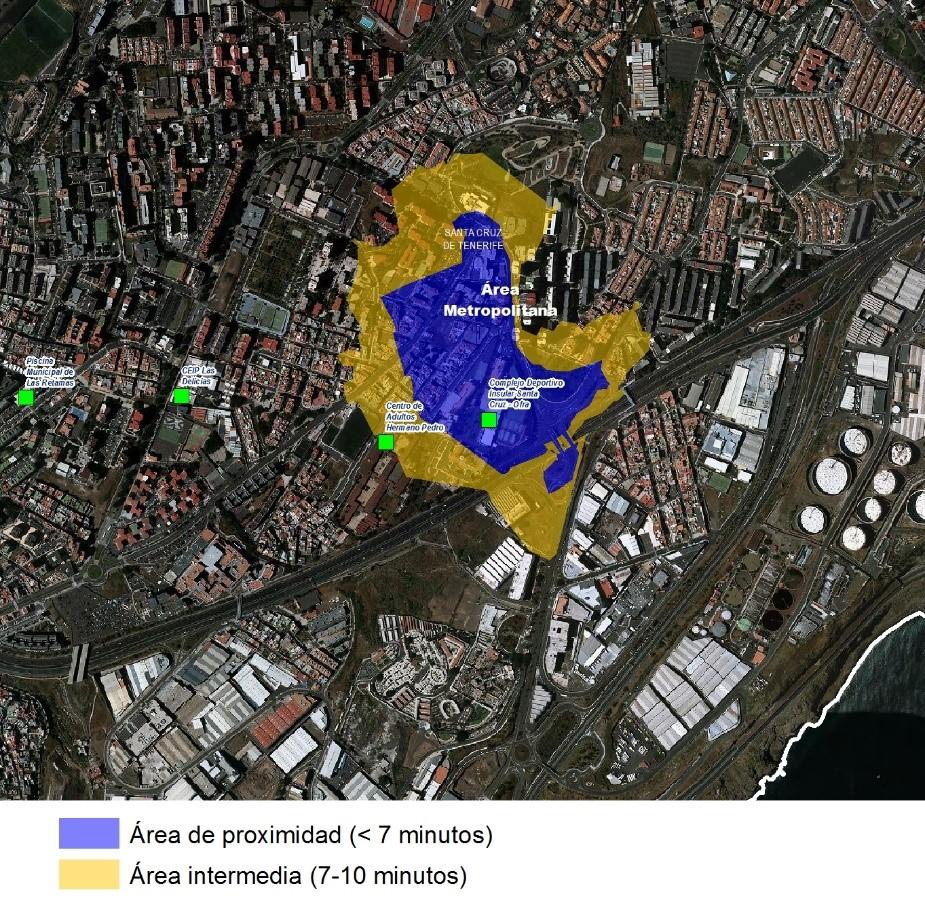 Estudio de las Piscinas del Servicio Municipal de Gijón (Asturias)